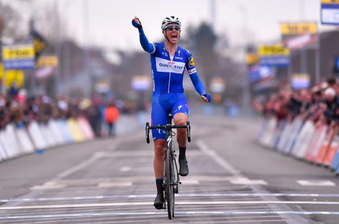 Niki Terpstra (Quick-Step Floors) wins the 2018 E3 Harelbeke