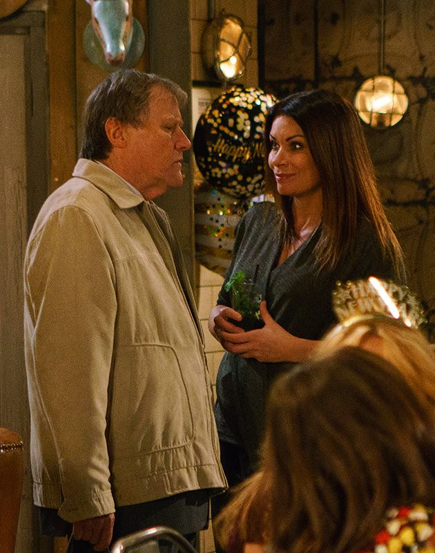 Roy Cropper Carla Connor