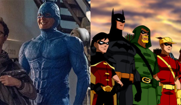 The Tick Young Justice