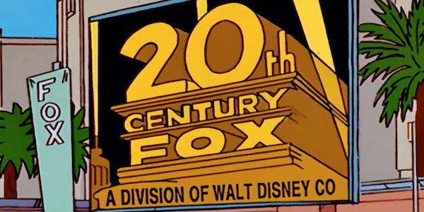 Disney Fox The Simpsons