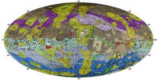 New Global Geologic Map of Vesta