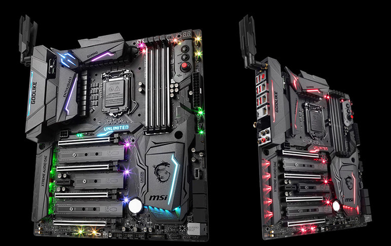 Image result for MSI Z270 Godlike Gaming motherboard doubles as a Wifi range extender