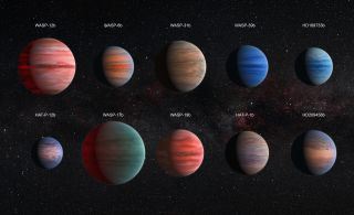 10 Hot Jupiters