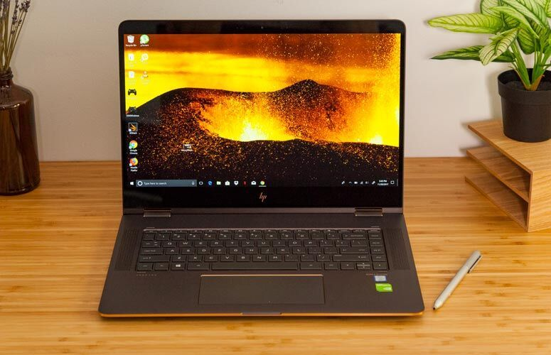 Hp Spectre X360 15 Inch 8th Gen Full Review And Benchmarks Laptop Mag