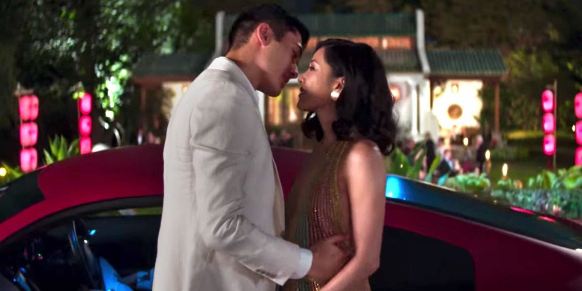 Henry Golding and Constance Wu in Crazy Rich Asians
