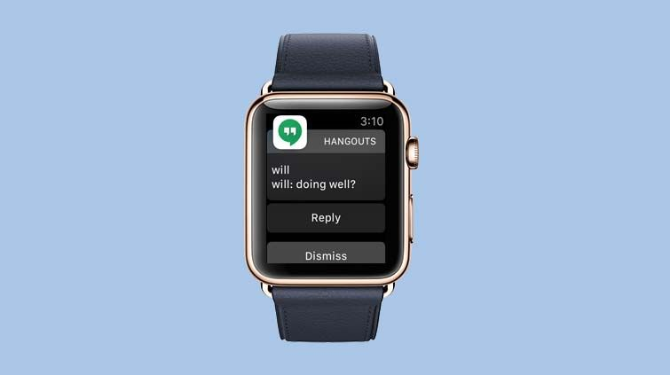 How to Use Google Hangouts From Your Apple Watch - How to Use the