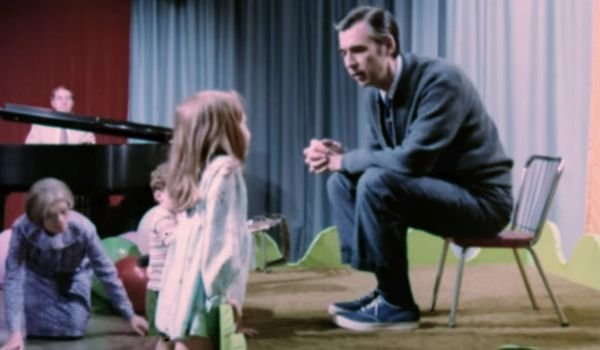 Mr. Rogers in Won't You Be My Neighbor