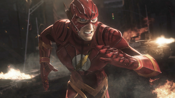 The Flash in Injustice