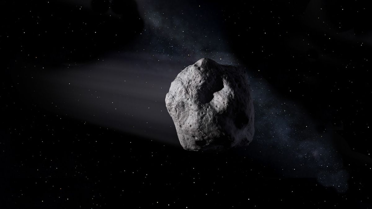 An asteroid just zipped past Earth closer than the moon's orbit
