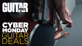 Cyber Monday guitar deals 2019: all the latest deals on acoustic and electric guitars, effects, amps and accessories in one place