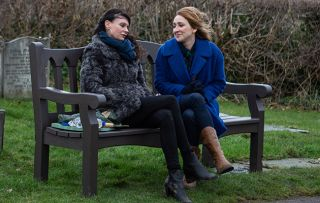 chas dingle Chas tends to Grace's grave and reveals to Laurel that she's pregnant