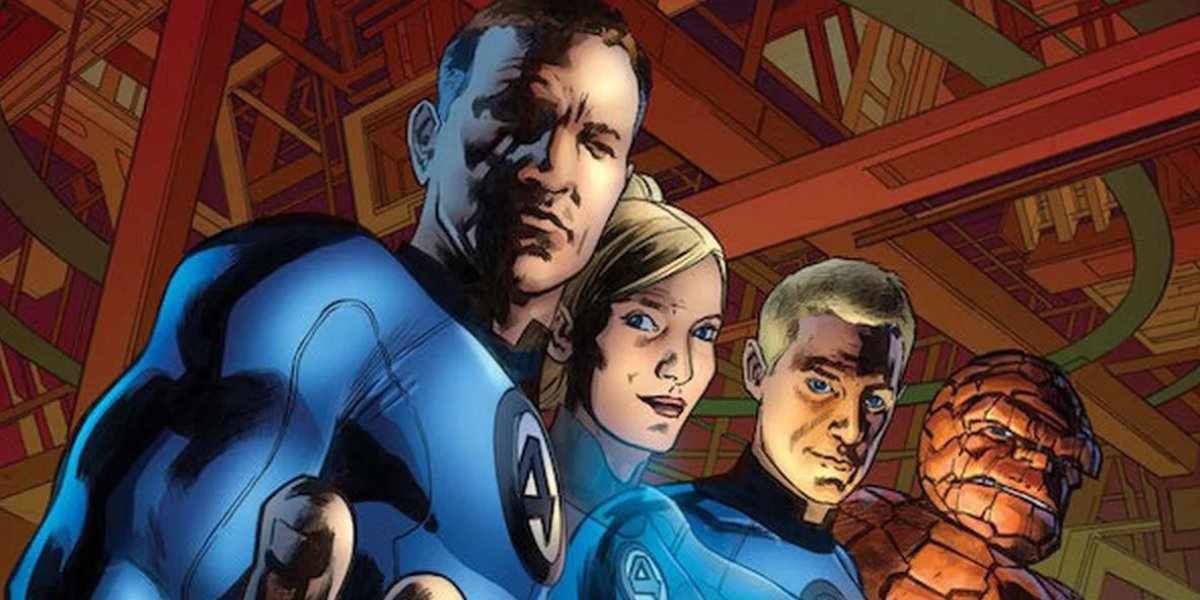 Reed Richards, a.k.a. Mister Fantastic, leads the Fantastic Four