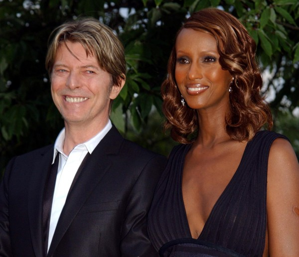 bowie and his wife iman