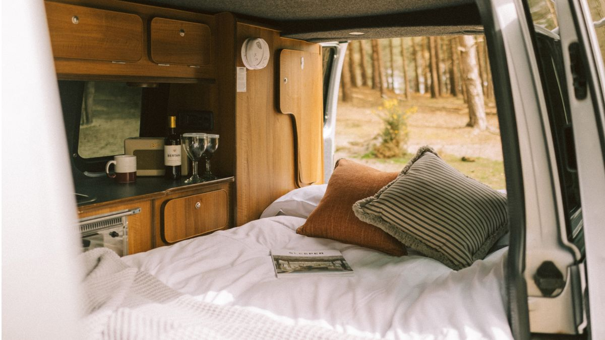 This Californian campervan is home to the most stylish road trip in the USA