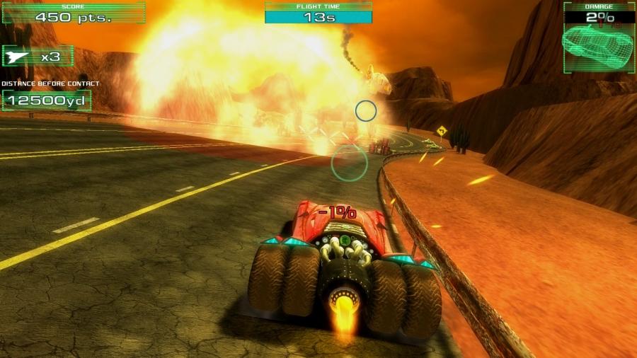 Fire And Forget Vehicle Looks Like Batman's Tumbler In New Screenshots #26474
