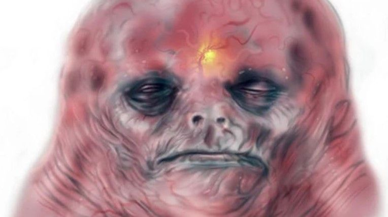 Ruin your day with this concept art of a helmet-less Big Daddy