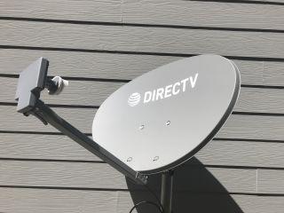 DirecTV satellite dish