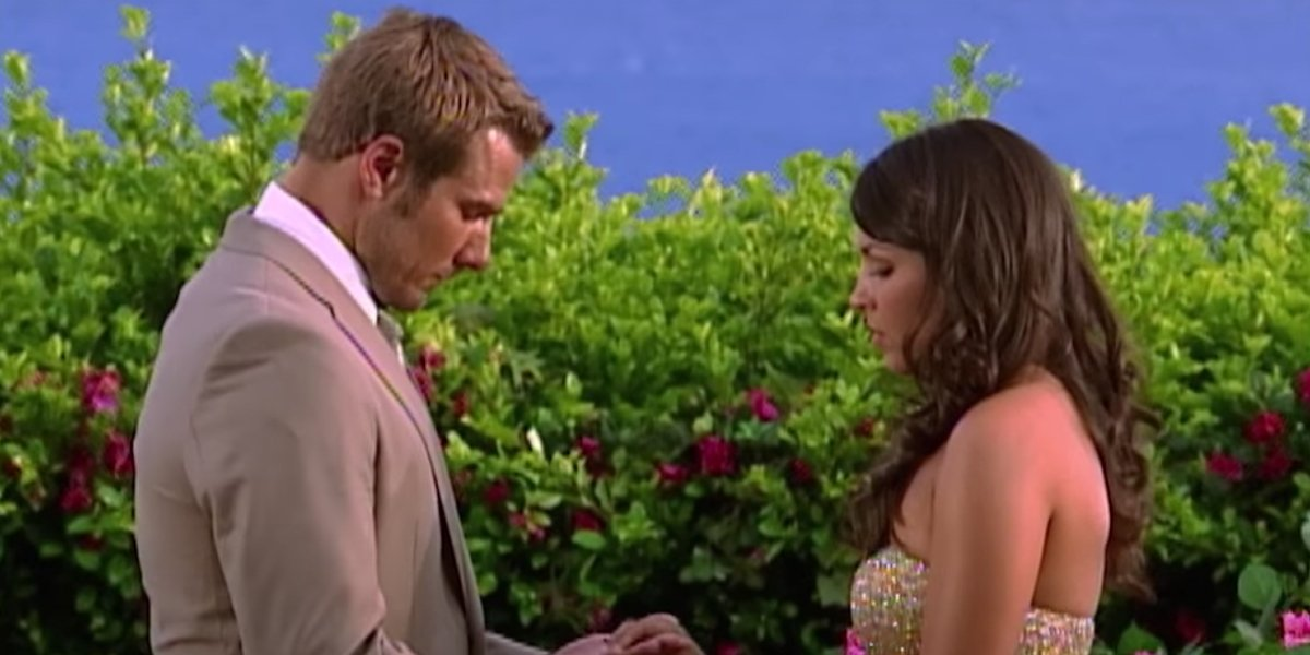 Brad Womack and DeAnna Pappas on The Bachelor