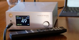 Gold Note DS-10 DAC Streamer Headphone Amplifier