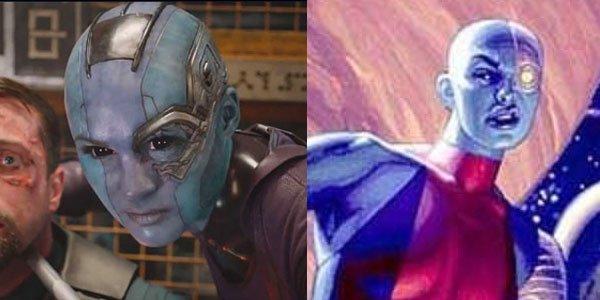 Nebula side by side