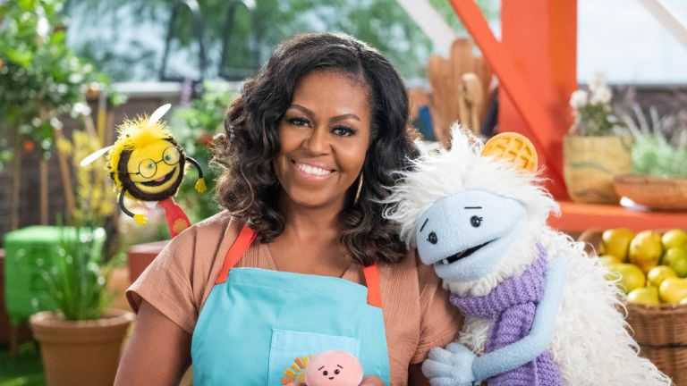 """Michelle Obama in """"Waffles and Mochi"""""""