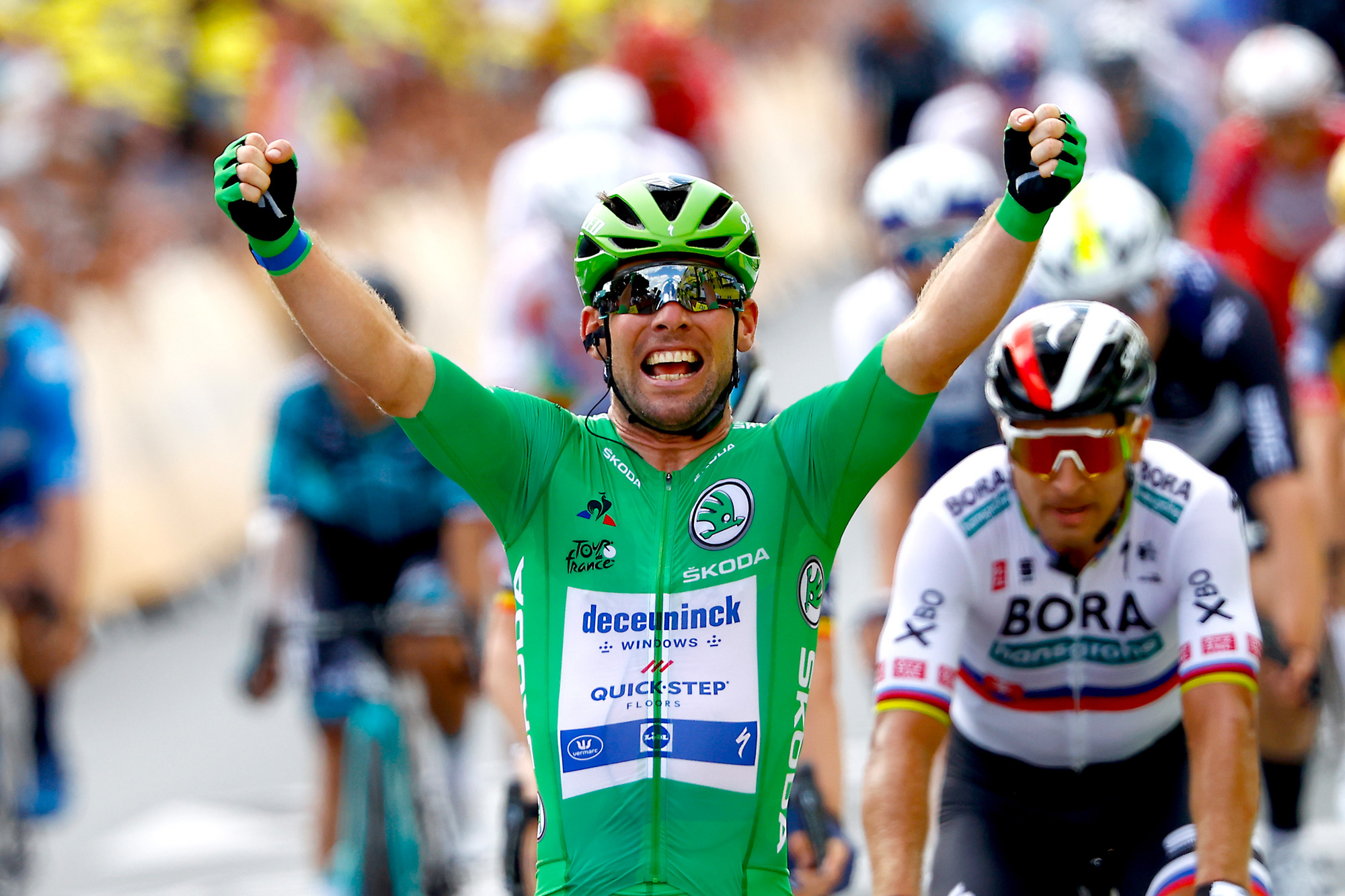 Tour de France 2021 - 108th Edition - 6th stage Tours - Chateauroux 160,4 km - 01/07/2021 - Mark Cavendish (GBR - Deceuninck - Quick-Step) - photo Luca Bettini/BettiniPhoto©2021