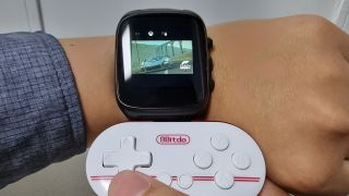 Xbox Cloud Gaming on a smartwatch