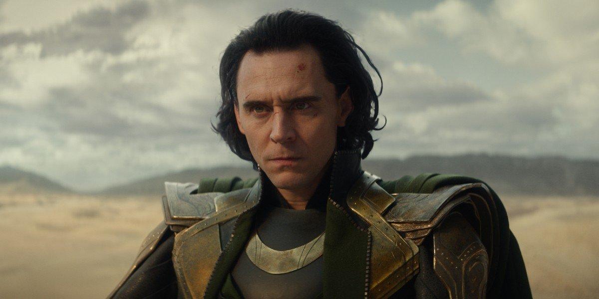 Loki (Tom Hiddleston) is annoyed and confused on Loki (2021)