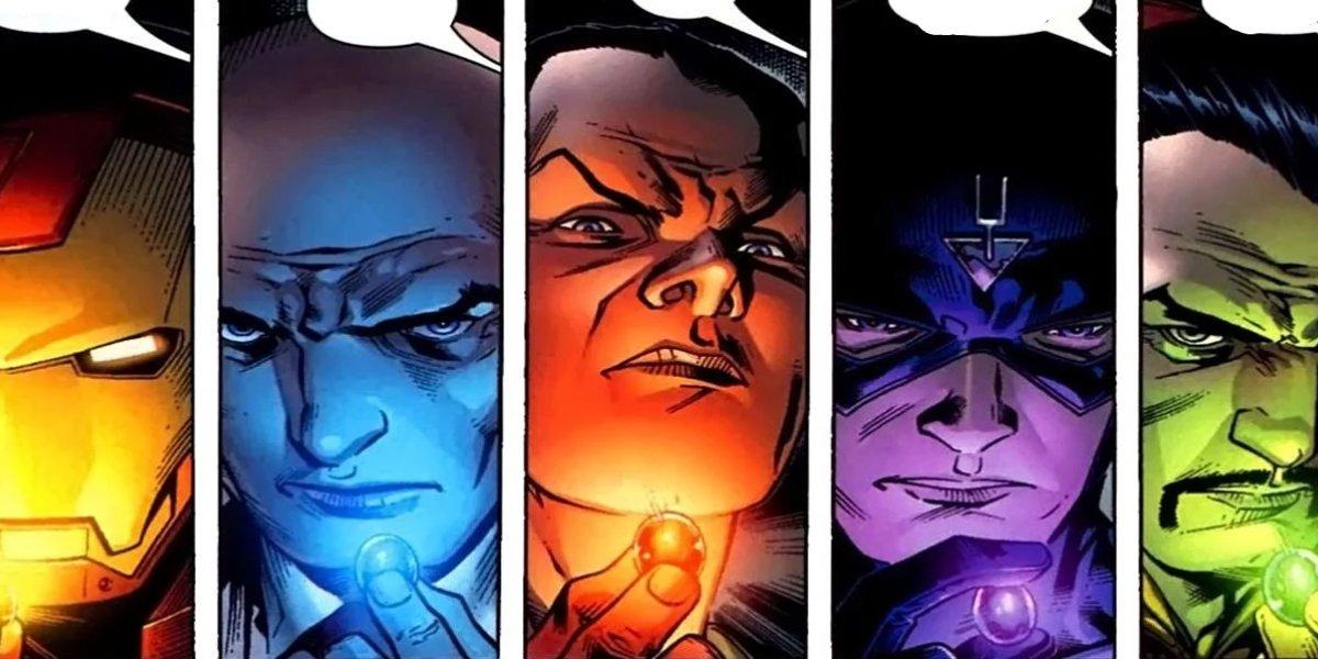 Members of the Marvel Comics' Illuminati
