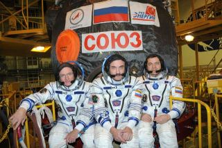 New U.S.-Russian Crew Headed for Space Station