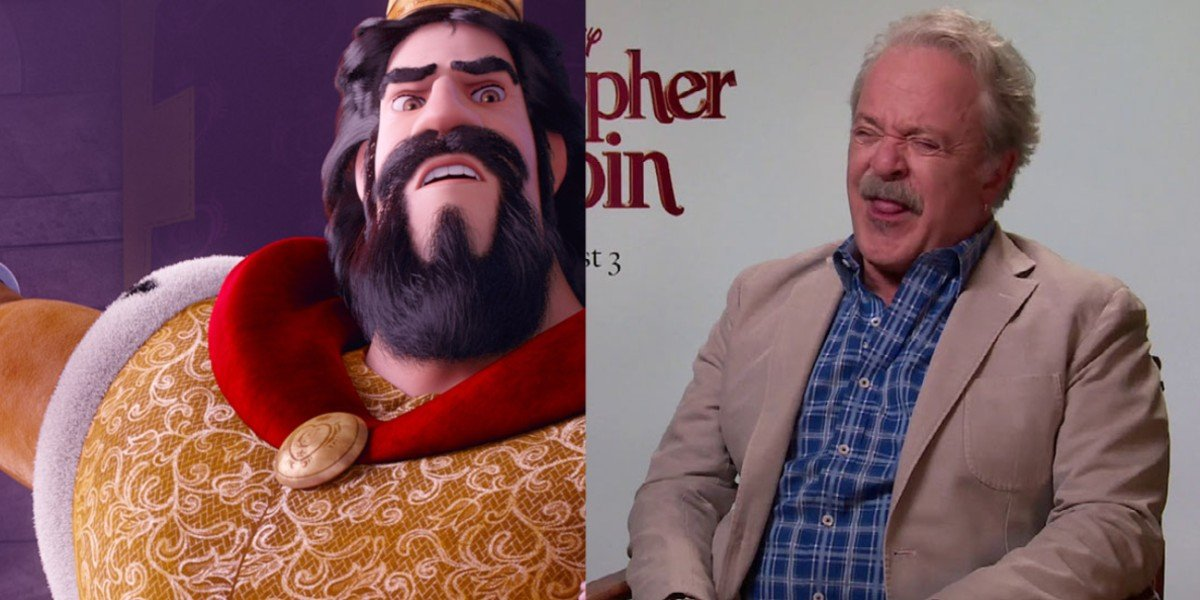 """King Charming - Charming/ """"Interview: Jim Cummings, the voice of Pooh and Tigger in Christopher Robin': YouTube"""
