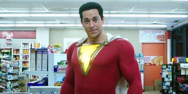 Zachary Levi as Shazam! DC DCEU Warner Bros.