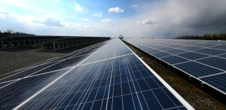 Solar panels, silica glass