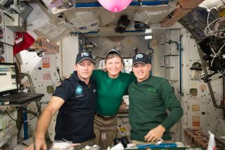 Peggy Whitson ISS commander