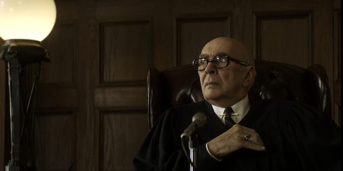 One Trial Of The Chicago 7 Actor Admits To Bringing A Fart Machine To Make Frank  Langella Angrier In The Courtroom - CINEMABLEND