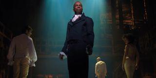 Aaron Burr (Leslie Odom Jr.) in Disney+'s Hamilton