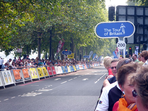 London crowds, Tour of Britain 2009, stage eight