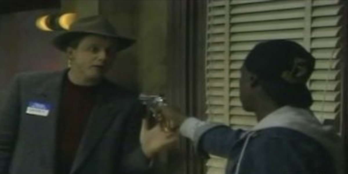 Harry Anderson and Don Cheadle on Night Court