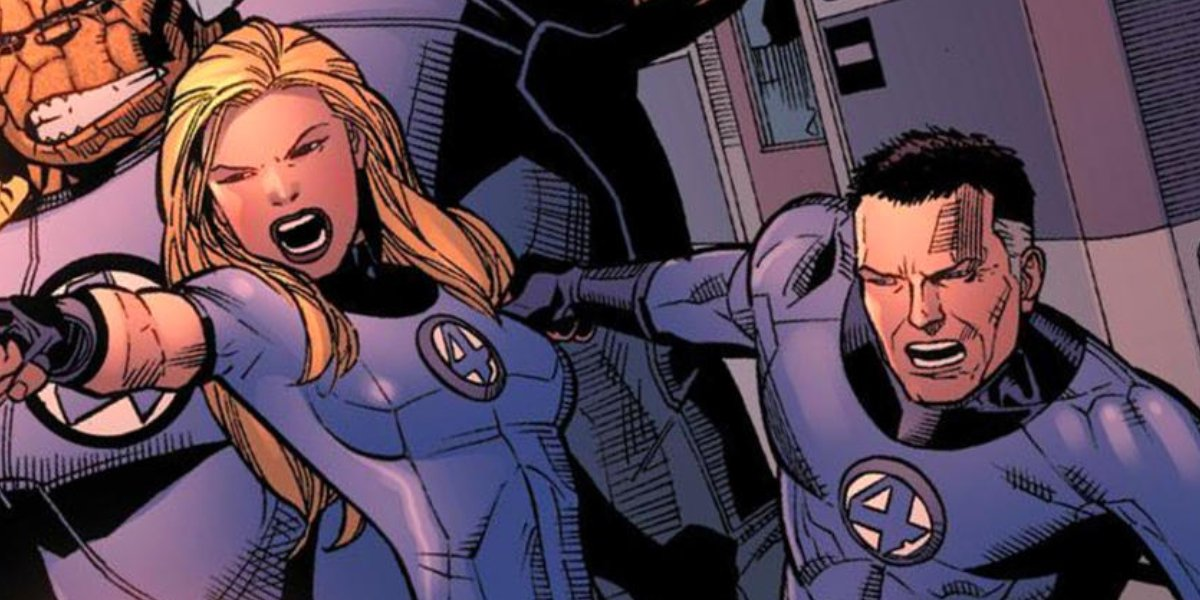 Invisible Woman and Mr. Fantastic