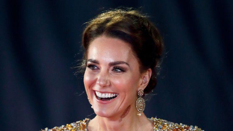 Kate Middleton's Bond dress sparks Princess Diana deja vu
