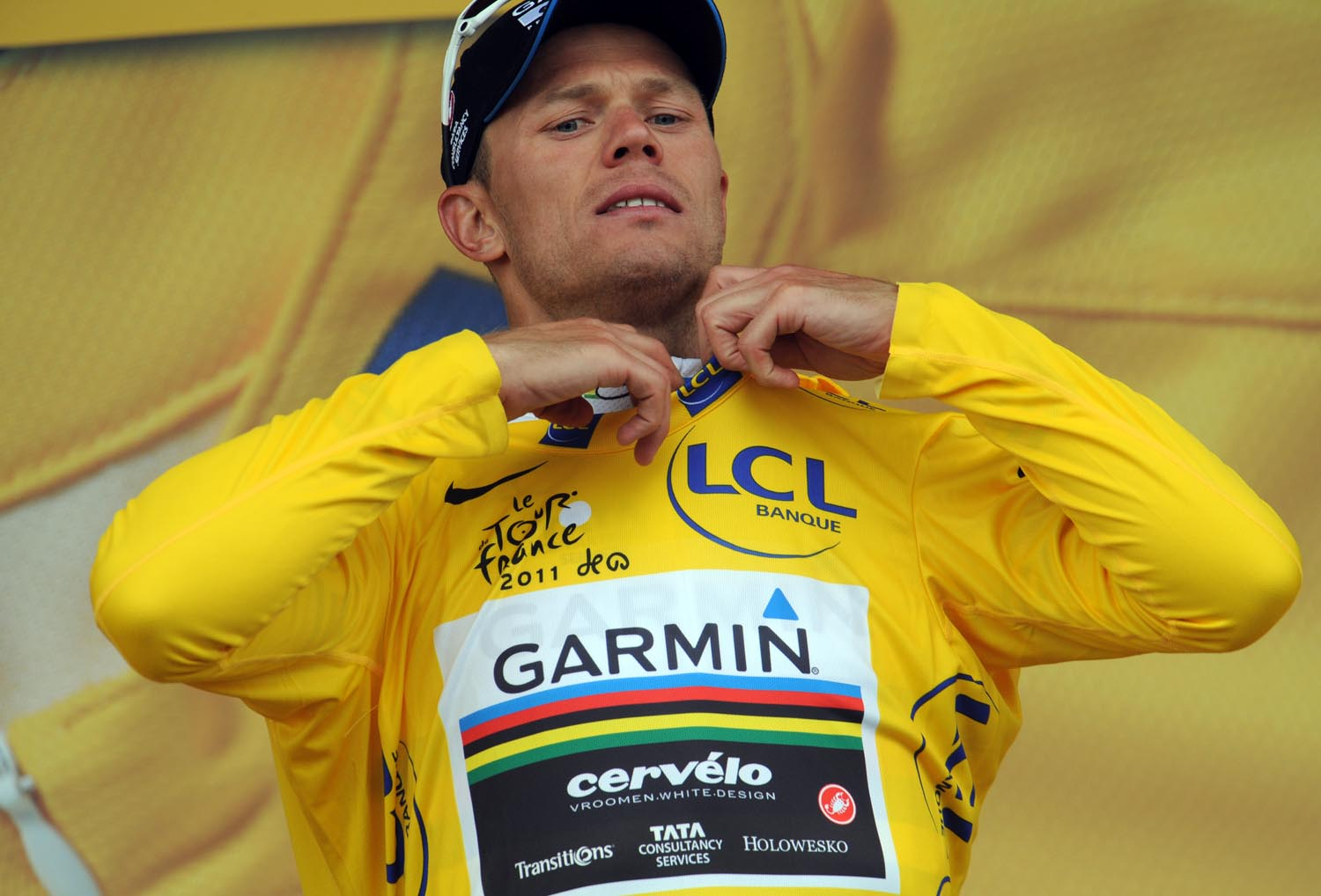 Thor Hushovd maintains overall lead, Tour de France 2011, stage five