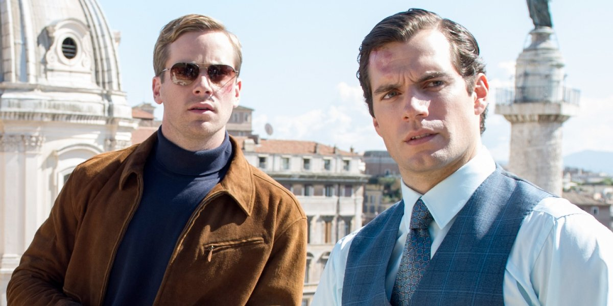 Armie Hammer and Henry Cavill in The Man From U.N.C.L.E.