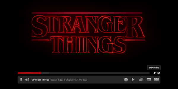netflix stranger things skip intro