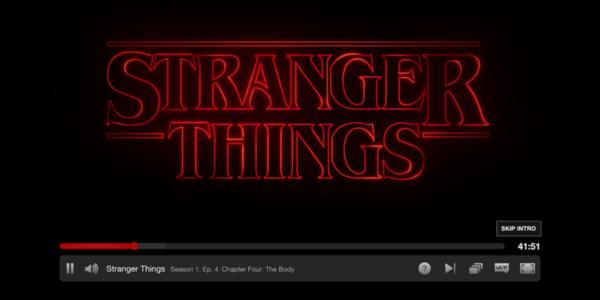 netflix stranger things skip intro