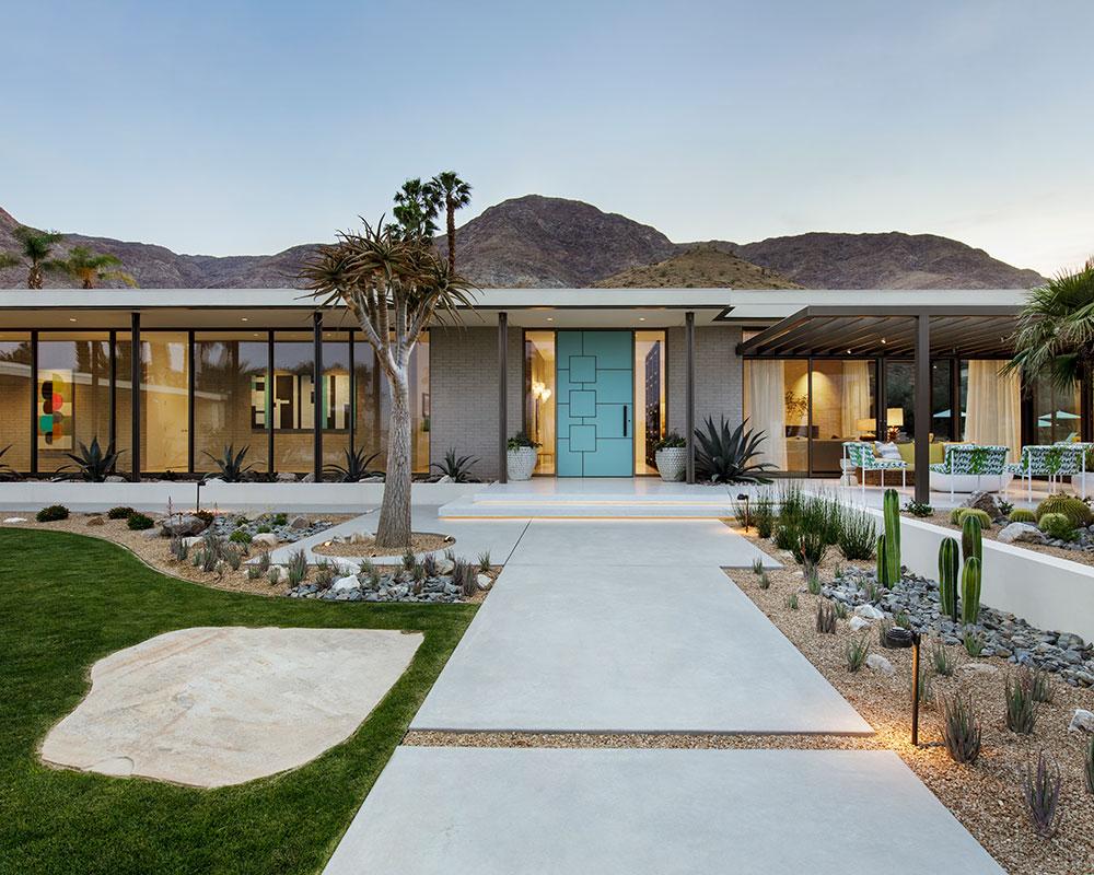 Tour this Mid-century modern home near Palm Springs