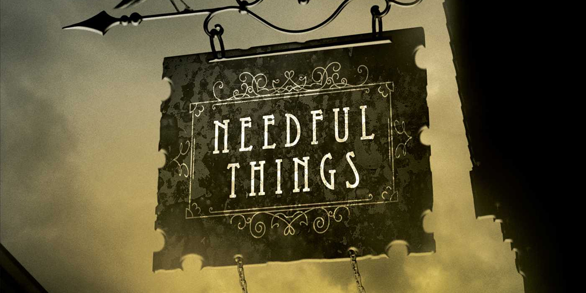 Needful Things Stephen King book cover