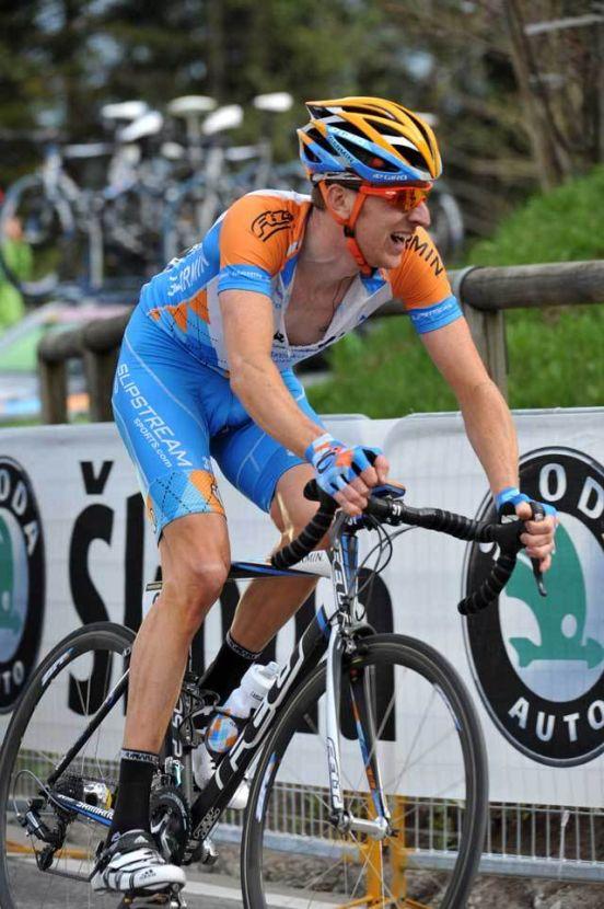 Bradley Wiggins Giro d Italia 2009 stage 4