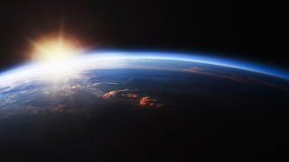 The best space documentaries to watch in 2021: image shows view of Earth from Space