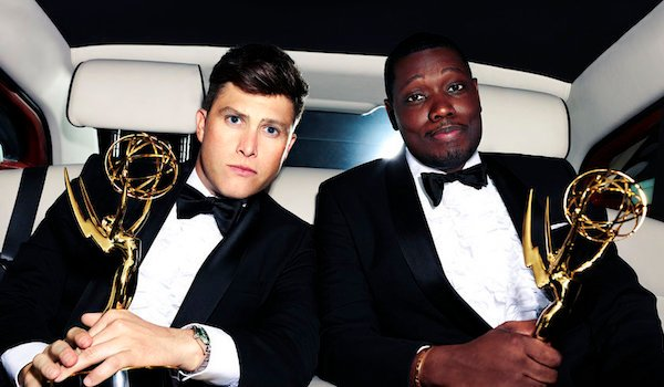 colin jost and michael che emmy hosts