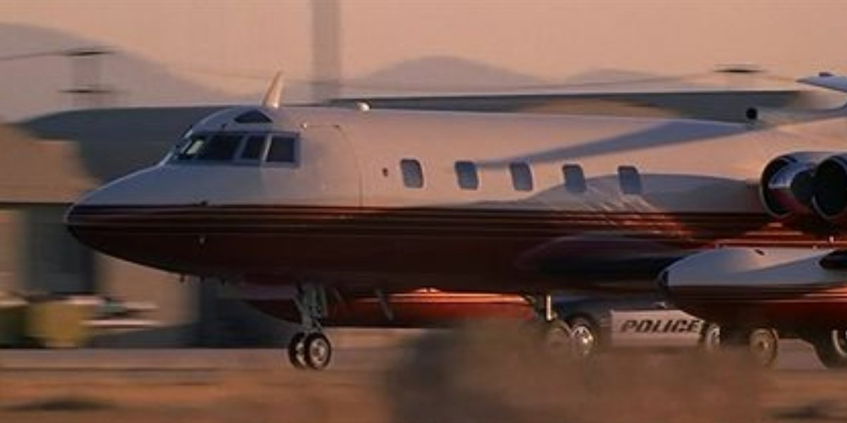 The plane from Face/Off